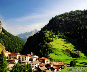 Alps, landscape, and green image