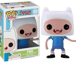 finn, pop, and adventure time image