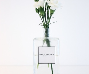 flowers, white, and marc jacobs image