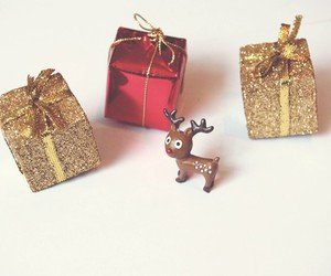 christmas, glitter, and presents image