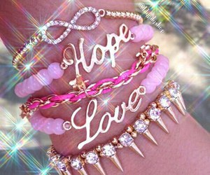 hope, pink, and girly image
