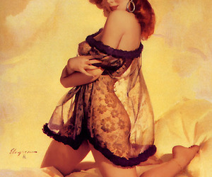 Pin Up, pin-up, and retro image