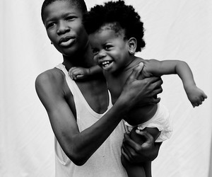 africa, black and white, and people image