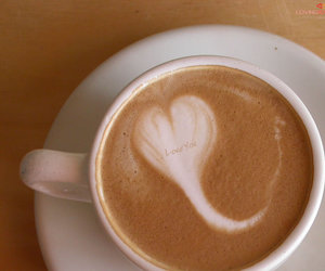 coffee, heart, and sperm image