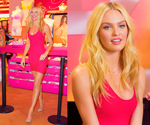 candice swanepoel, pink, and victorias secret image