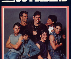 book, the outsiders, and 80s image