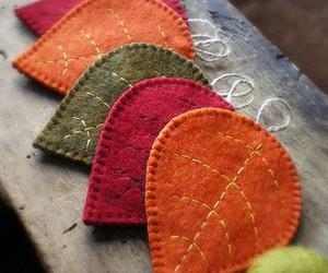 autumn, felt, and fall image