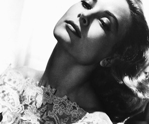 grace kelly, actress, and black and white image