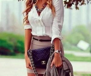 bag, fashion, and necklace image