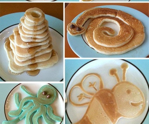 pancakes, food, and animals image
