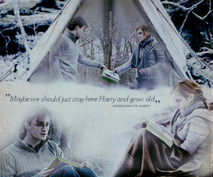 harry potter, loved, and text image