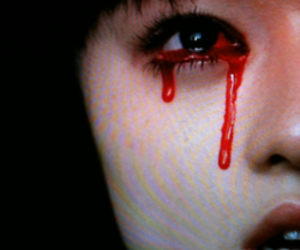 blood, eyes, and kill bill image