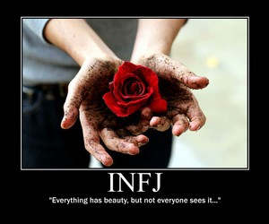 rose and infj image
