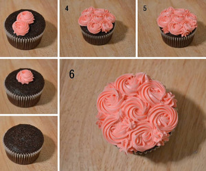 cupcakes, frosting, and icing image