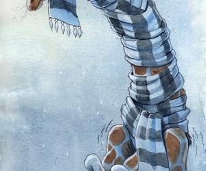 giraffe, cold, and animal image