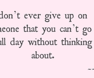 love, quotes, and give up image