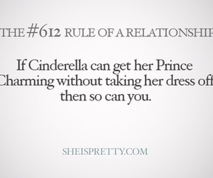 cinderella, rules, and prince image
