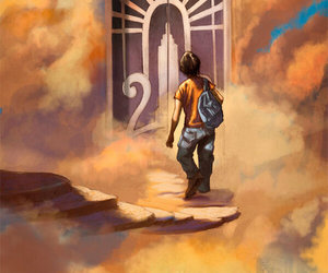 percy jackson, Olympus, and book image