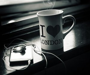 london, music, and cup image