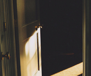 door, dusk, and hipster image