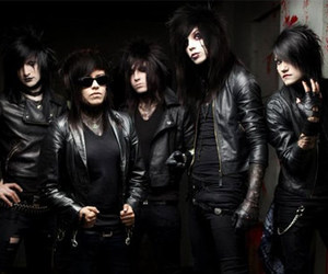 andy six, black veil brides, and andy biersack image