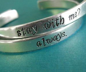 always, aqua, and bracelets image