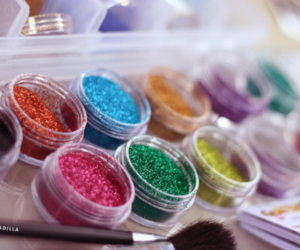 glitter, sparkle, and girly image