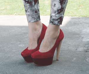 fashion, heels, and photo image