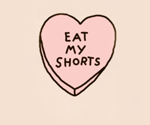 eat, shorts, and heart image