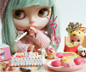 doll, blythe, and cute image