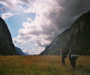 adventure, inspiring, and backpacking image