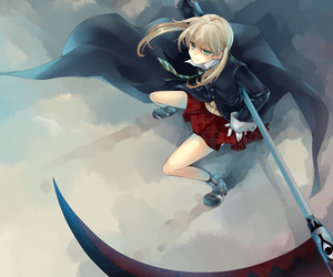 anime, girl, and soul eater image