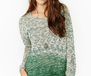 green, knit, and nasty gal image