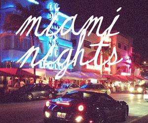 80s, Miami, and beach image