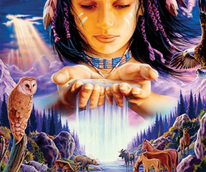 native american image