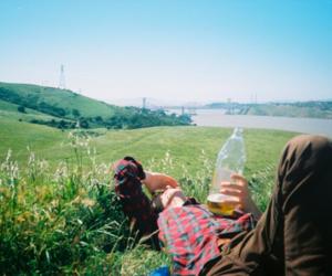 boy, hipster, and landscape image