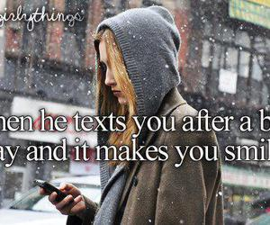text, smile, and bad day image