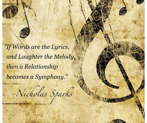 quote, music, and love image