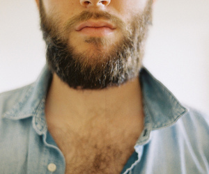 beard, man, and boy image