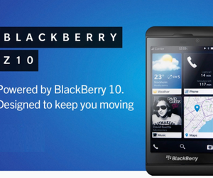 blackberry z10 and rogers and bell image
