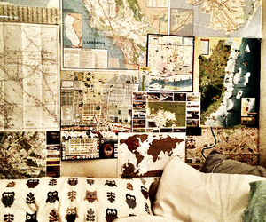 map, room, and bedroom image