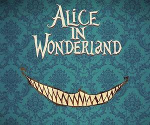 alice, alice in wonderland, and smile image