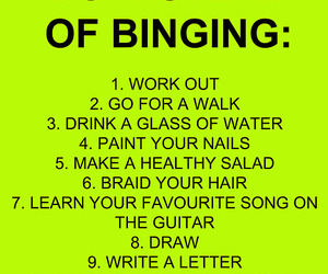 motivation, binge, and fit image