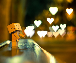 danbo, love, and heart image