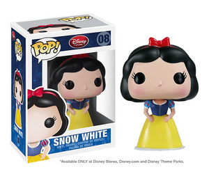 snow white and funko pop image