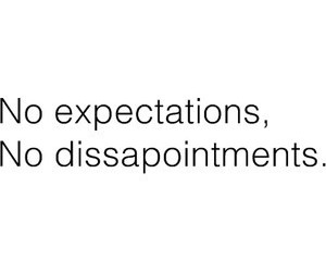 life, quote, and expectations image