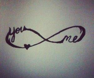infinity, you, and me image