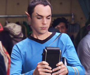 sheldon, the big bang theory, and spock image