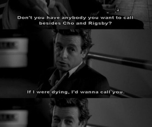 black and white, the mentalist, and patrick jane image