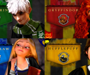 harry potter, disney, and merida image